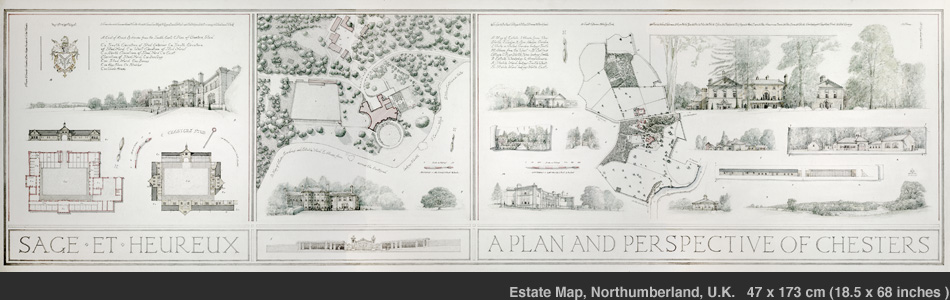 The Chesters Estate Map